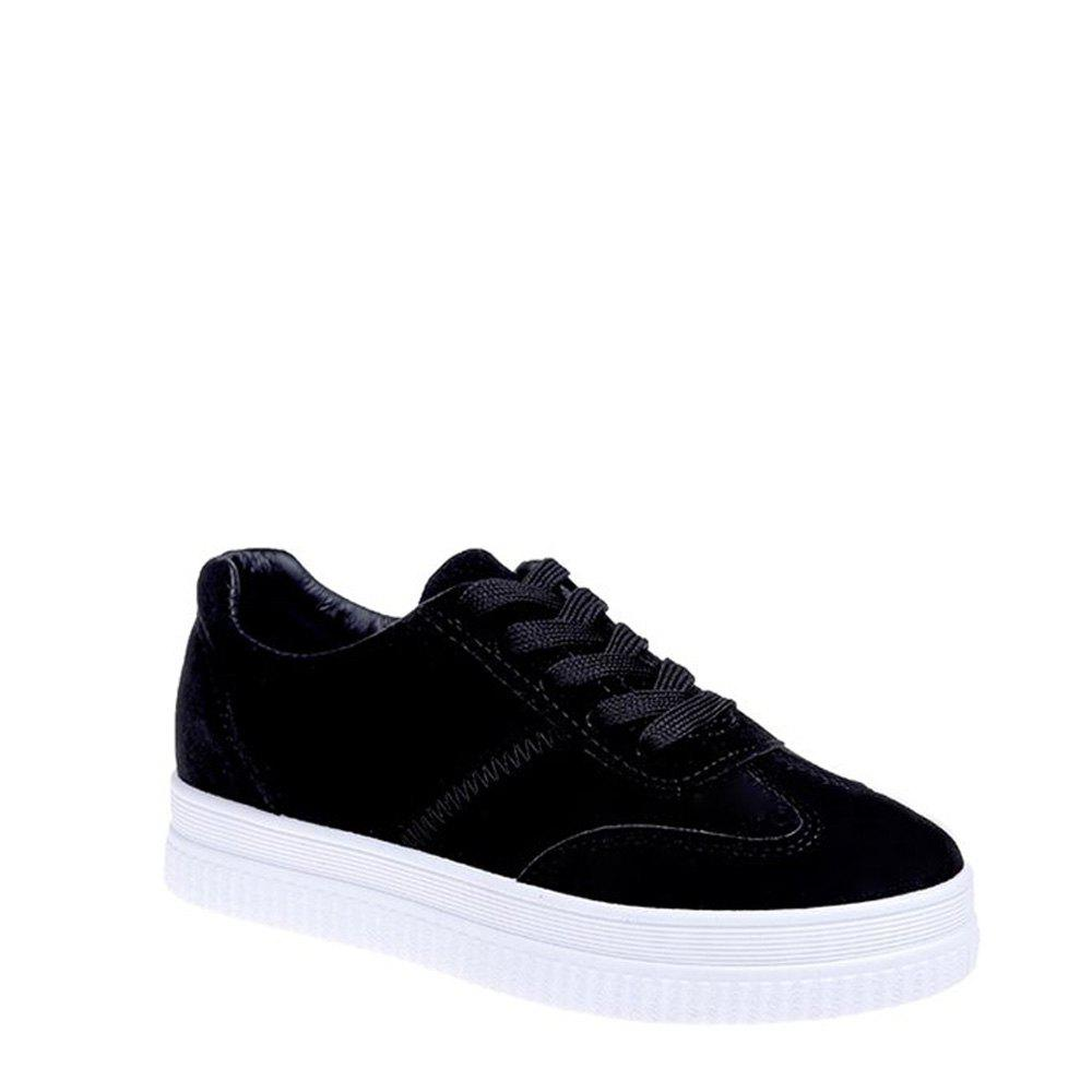 2017 Tide Sports Casual Shoe Girl - BLACK 39