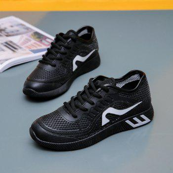 Hollow Out Color Block Casual Shoes - 40 40