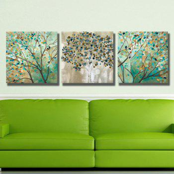 Dyc 10009 3PCS Abstract Trees Prtint Art Painting Ready To Hang Paintings -  COLORMIX