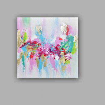 Happy Art Handed Top Grade Canvas Fashion Abstract Oil Painting Wall