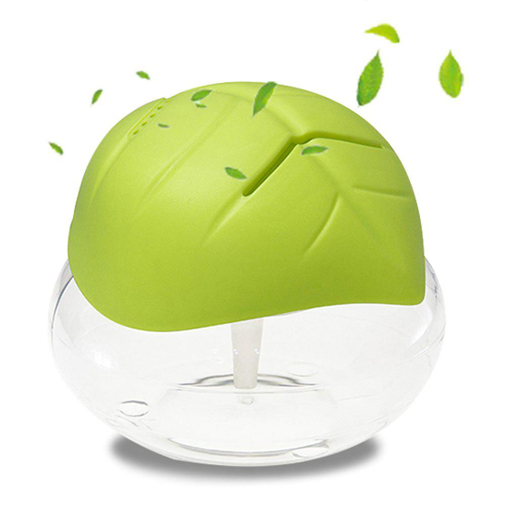 Led Light Green Air Essential Oil Purifier - GREEN UK PLUG