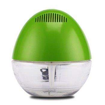 Smart Home Office Use Remove PM2.5 Water Purification Air Purifier - GREEN US PLUG