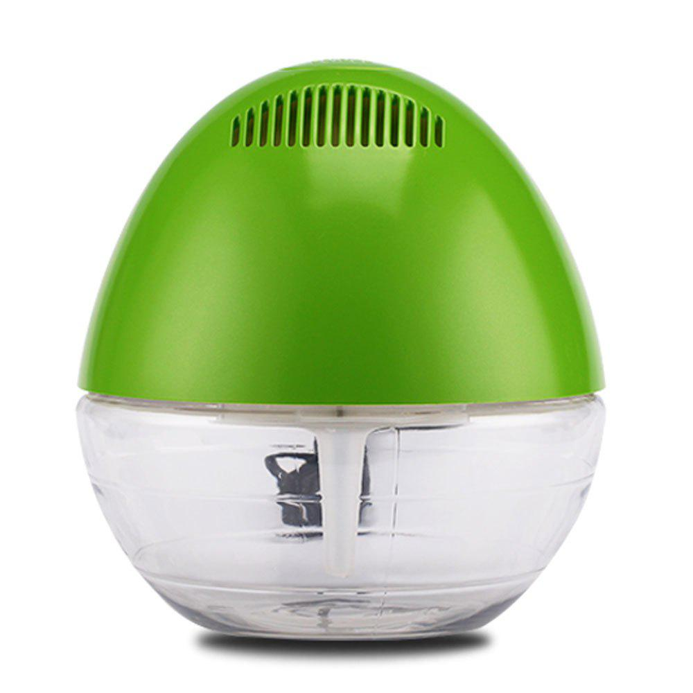 Smart Home Office Use Remove PM2.5 Water Purification Air Purifier - GREEN UK PLUG