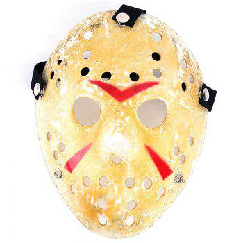 Gold Antique Party Mask Cooking Jason Greddie Hockey Festival Halloween - MARIGOLD MARIGOLD