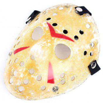 Gold Antique Party Mask Cooking Jason Greddie Hockey Festival Halloween -  MARIGOLD