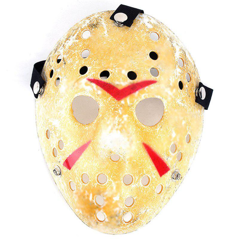 Gold Antique Party Mask Cooking Jason Greddie Hockey Festival Halloween - Souci