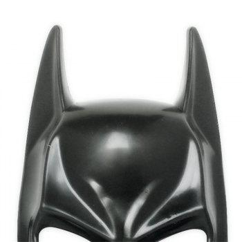 Hot Halloween Batman Adult Black Masquerade Mask Male Cool Half Face Costume Equipment -  BLACK