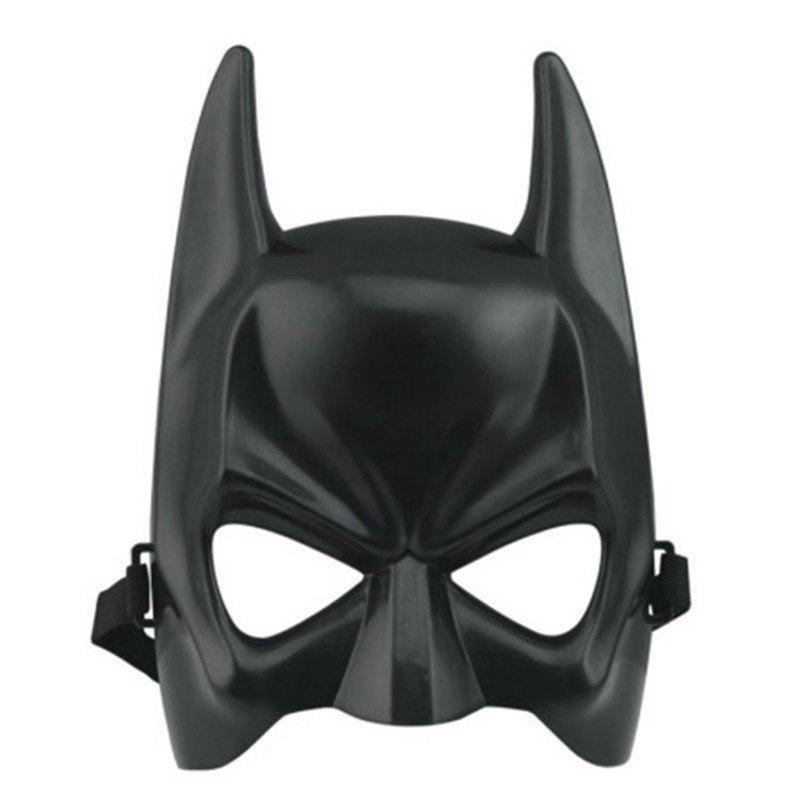 Hot Halloween Batman Adult Black Masquerade Mask Male Cool Half Face Costume Equipment terminator full face mask skull mask airsoft paintball mask masquerade halloween cosplay movie prop realistic horror mask