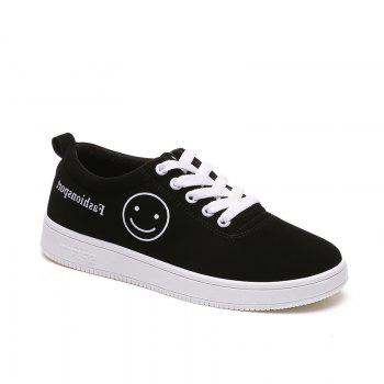 Ladies Casual Shoes Female Canvas Shoes - WHITE 35