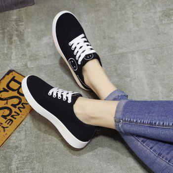 Ladies Casual Shoes Female Canvas Shoes - BLUE BLUE