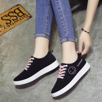 Ladies Casual Shoes Female Canvas Shoes - PINK PINK