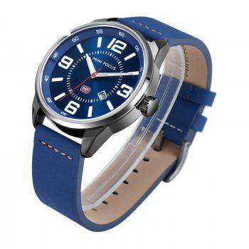 MINI FOCUS Mf0050G 4447 Luminous Needle Men Watch -  BLUE