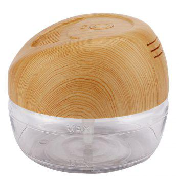 Humidificateur Climatiseur à Base d'eau LED Light Negative Ions Purificateur d'huile Essentielle - Bois UK PLUG