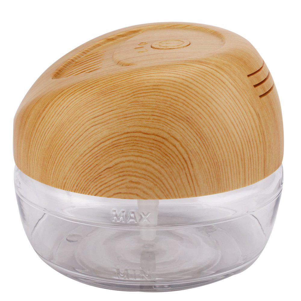 Water Based Air Conditioner LED Light Negative Ions Essential Oil Purifier - WOOD US PLUG