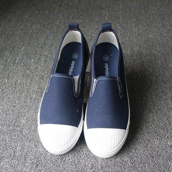 Students Breathe In Running Canvas Shoes - 39 39
