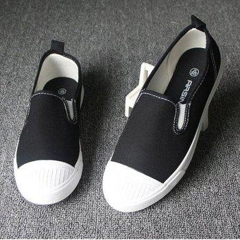 Students Breathe In Running Canvas Shoes - 38 38