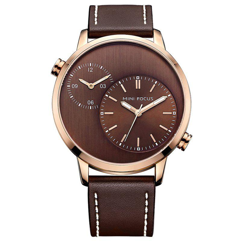 Montre MINI FOCUS Mf0035G 4288 Double Mouvement Homme - Or de Rose
