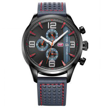 MINI FOCUS Mf0016G 4318 Multifunctional Men Watch - GRAY GRAY