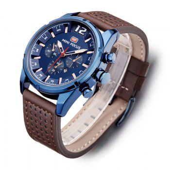 MINI FOCUS Mf0005G 4372 Dial Decor Men Watch -  BLUE