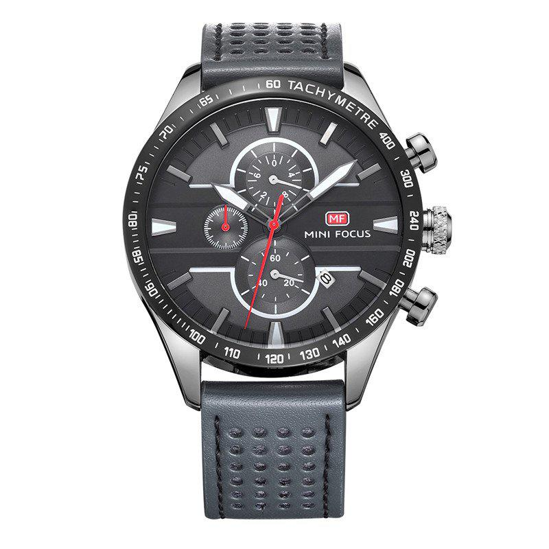 MINI FOCUS Mf0002G-04 4374 Leisure Sports Men Watch - GRAY