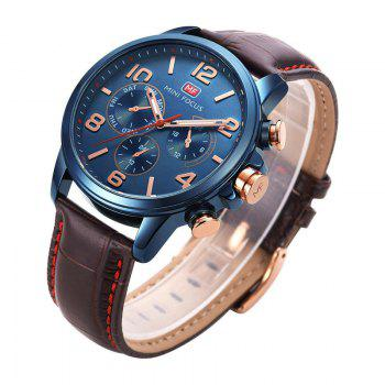 MINI FOCUS Mf0001G-05 4375 Business Dial Decor Men Watch - BLUE