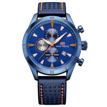 MINI FOCUS Mf0011G 4368 Multifunctional Men Watch - BLUE BLUE
