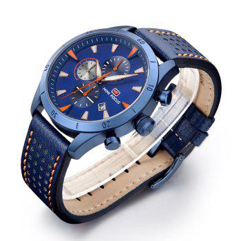 MINI FOCUS Mf0011G 4368 Multifunctional Men Watch -  BLUE