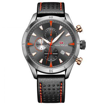 MINI FOCUS Mf0011G 4368 Multifunctional Men Watch - GRAY GRAY
