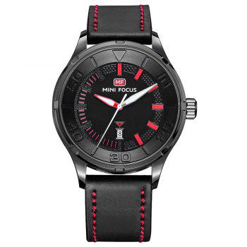 MINI FOCUS Mf0008G 4370 Exclusive Color Design Men Watch - BLACK BLACK