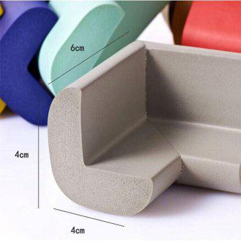 Soft Baby Safe Corner Protector Table Desk Corner Guard(Random Color) - MIXED COLOR /
