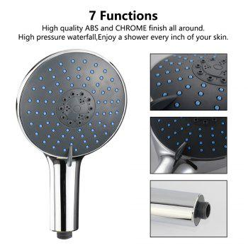 Sea Pioneer Handheld Shower Head Bath 7 Modes Function -  BLACK WHITE