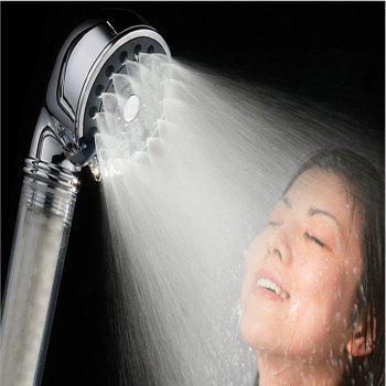 Sea Pioneer Handheld Bath Shower Head avec fonction de filtre - Blanc
