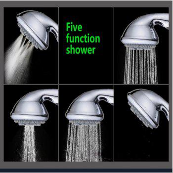 Sea Pioneer Shower Head Handheld Handset with 5 Way Modes -  GRAY