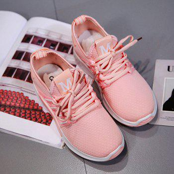 All-Match Cloth Shoes Lace White Sneakers Shoes - 39 39