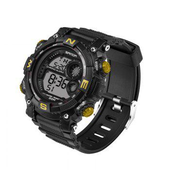 Sanda 323 5304 Sports Multifunctional Men Watch -  GOLDEN