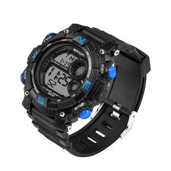 Sanda 323 5304 Sports Multifunctional Men Watch -  BLUE