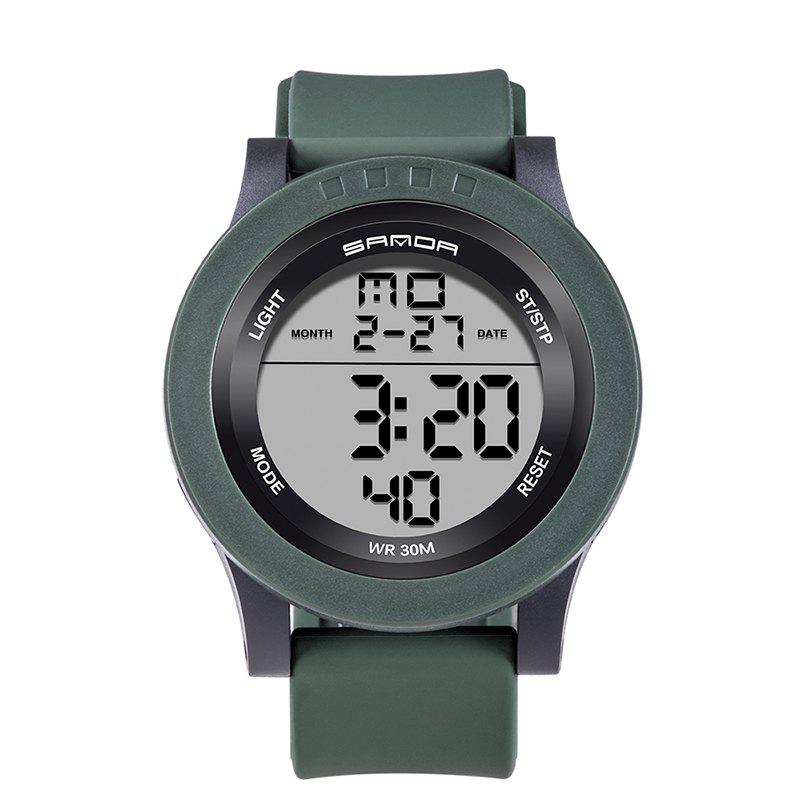 Sanda 336 5311 Leisure Multifunctional Sports Men Watch - GREEN