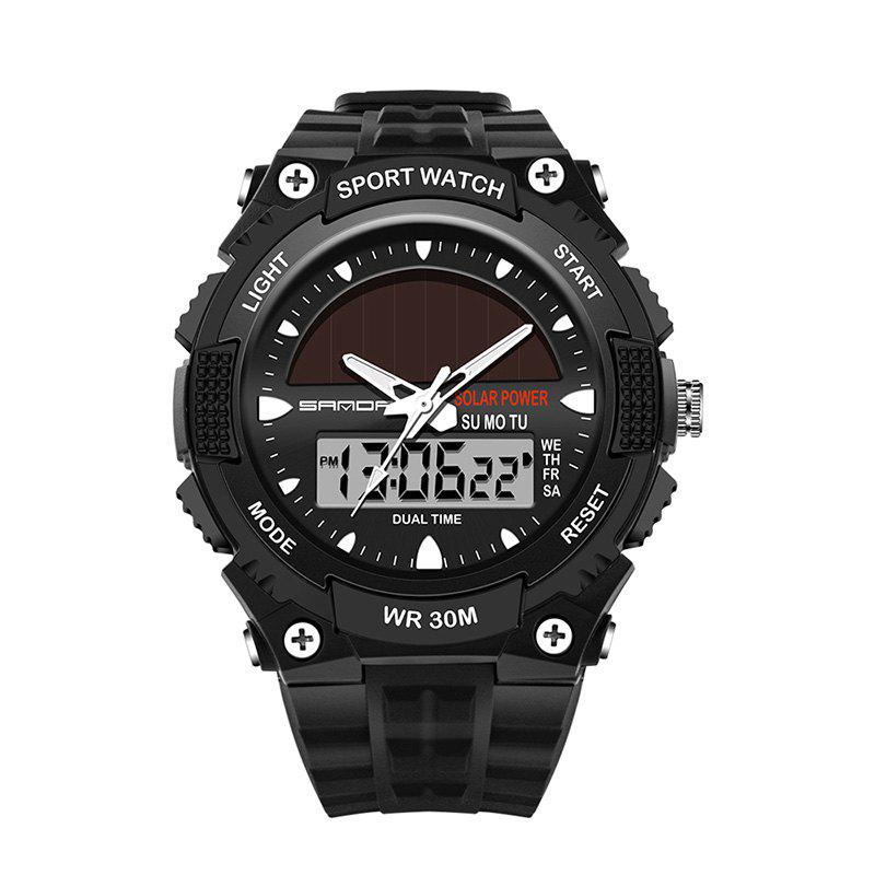 Sanda 719 5313 Multifunctional Outdoor Sports Men Watch - BLACK