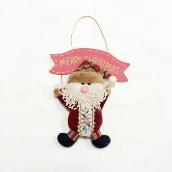 3Pcs Good Quality Christmas Decoration Door Hangers -  COLORMIX