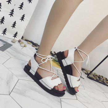 The New Fashionable Xia Jioping Heel Shoe of Platform Sandals - 37 37