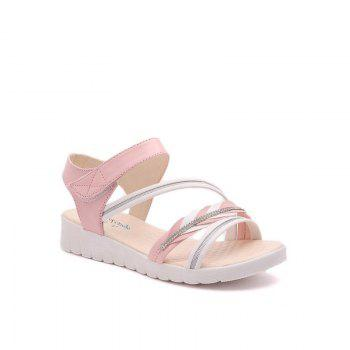 The Wedge Heel of The Student Sandals - PINK 35