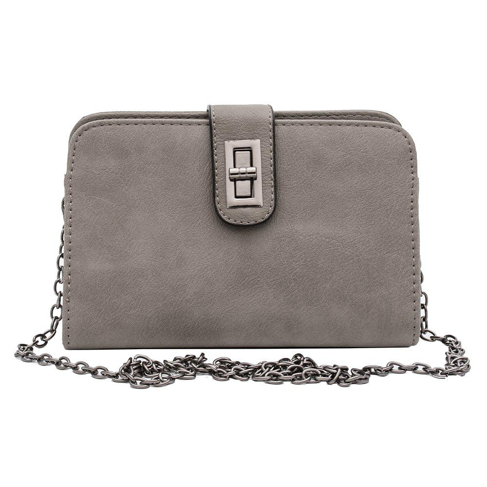 Women'S Crossbody Bag Leisure Pack Envelopes - GRAY 1PC