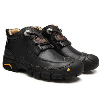 Men'S Boots for Men'S Short Boots and Anti-Skid Boots in Winter - 38 38