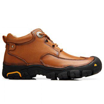 Men'S Boots for Men'S Short Boots and Anti-Skid Boots in Winter - 45 45