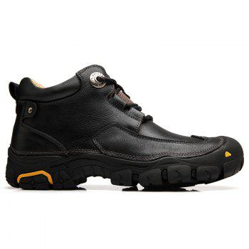 Men'S Boots for Men'S Short Boots and Anti-Skid Boots in Winter - 43 43