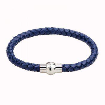 Hand Woven Leather Bracelets - BLUEBELL BLUEBELL