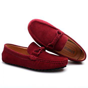 The Fall of New Shoes Slip-On Doug Foot Soft Bottom Shoes Doug Comfortable Leather Men'S Shoes - AMERICAN BEAUTY AMERICAN BEAUTY
