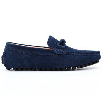 The Fall of New Shoes Slip-On Doug Foot Soft Bottom Shoes Doug Comfortable Leather Men'S Shoes - 43 43
