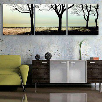 Yc Special Design Frameless Paintings shade of 3 - WHITE AND BLACK 20 X 20 INCH (50CM X 50CM)