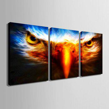 Yc Special Design Frameless Painting Birds Eye of 3 - Citron 9 X 13 INCH (24CM X 34CM)